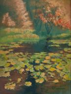 ArtStudio - Nenufary, 40x30 cm