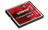 KINGSTON 64GB Compact Flash 64 GB ULTIMATE 266x CF