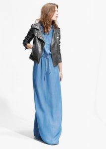 c880d18ed7 Mango maxi asos sukienka jeans jeansowa 36 długa - 6305877845 ...