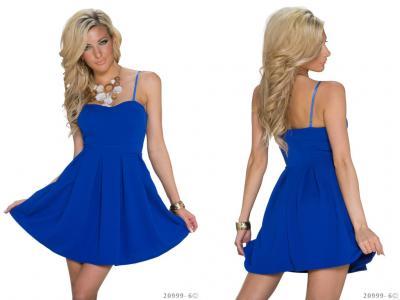 Izzy Rozkloszowana Sukienka Ramiaczka Kobalt 5641066946 Oficjalne Archiwum Allegro