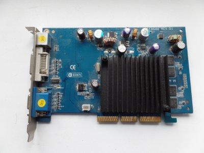 Karta Graficzna Nvidia GeForce AGP 6200 256MB