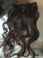 Dopinka z włosów naturalnych 50cm 3szt