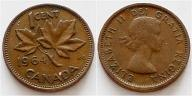 Kanada 1 cent 1964r