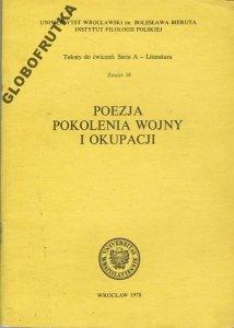 Poezja Pokolenia Wojny I Okupacji Baczyński Gajcy