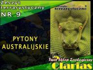 ZESZYT TERRARYSTYCZNY NR 9 - PYTONY AUSTRALIJSKIE