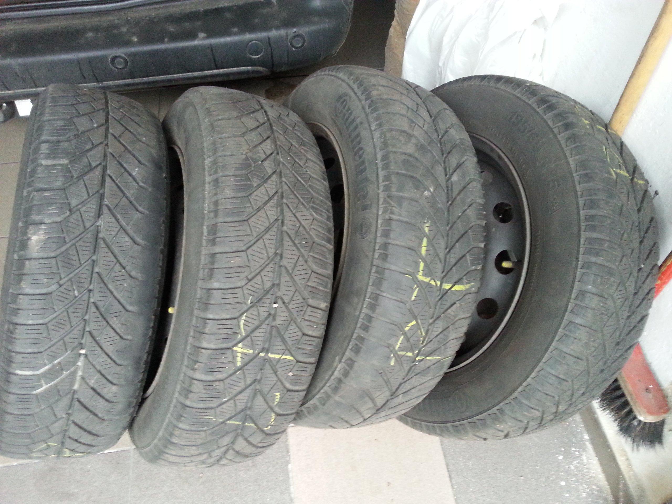 Koła Opony Zimowe Fiat Stilo 15 Komplet Zimowe 7057280733