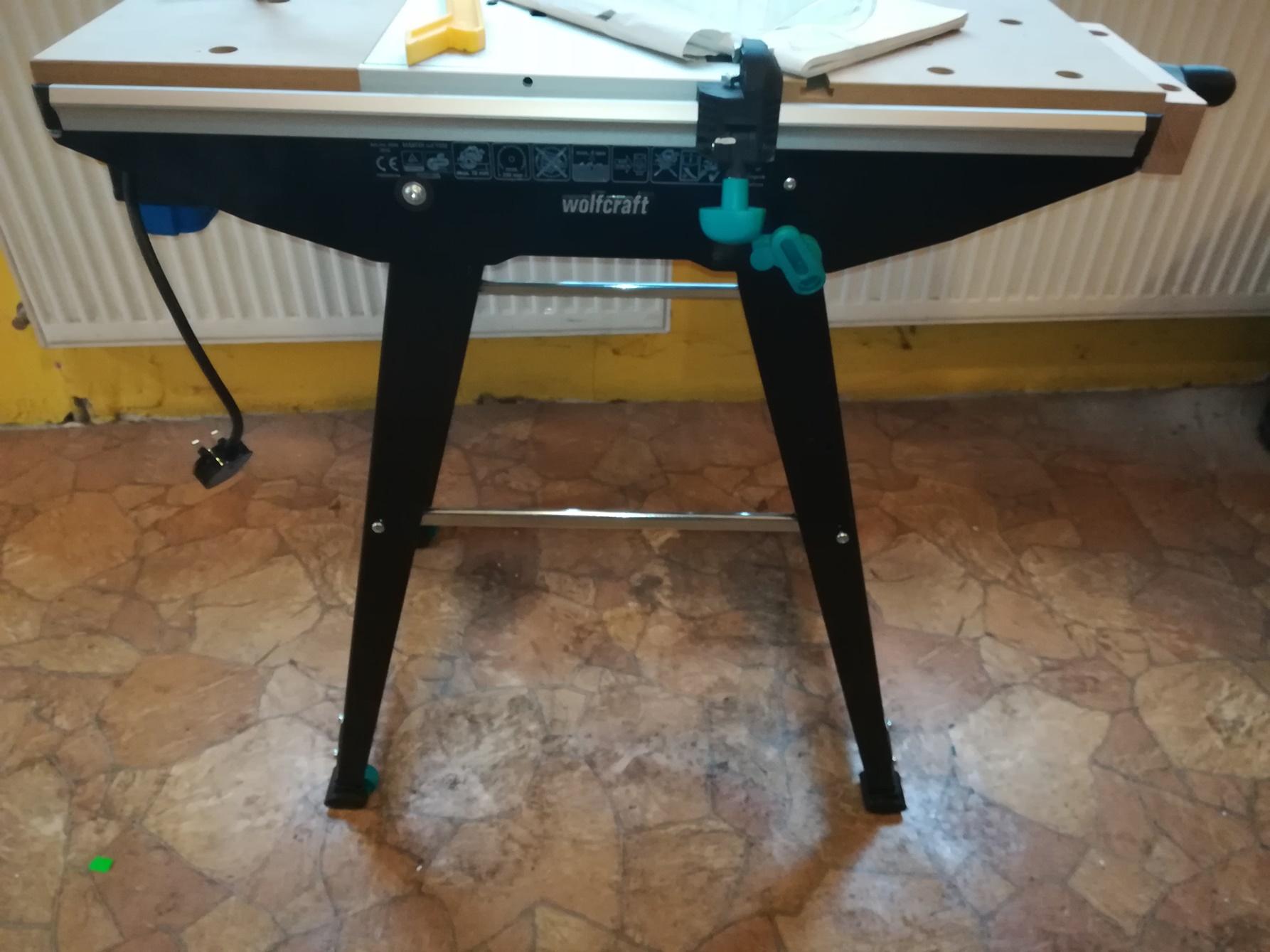 Stół roboczy Wolfcraft Master Cut 1500
