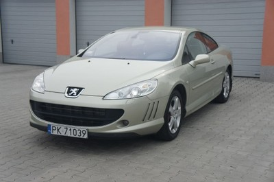Peugeot 407 Coupe 2 7 Hdi V6 Automat 6 Biegow 6760807708 Oficjalne Archiwum Allegro