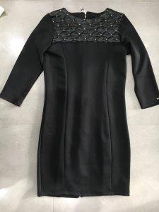 Cudna sukienka skóra pikowana zamek Mohito