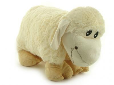 Poduszka składana owieczka maskotka wielka gigant