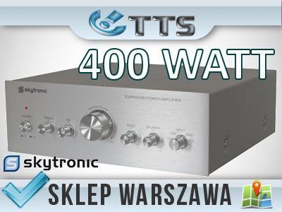 Mocny wzmacniacz 400 Watt Skytronic - sklep, W-wa