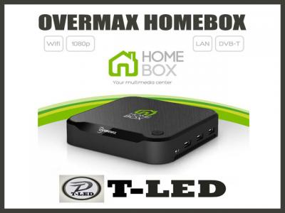 OVERMAX HOMEBOX DVBT ANDROID WIFI SMART-TV