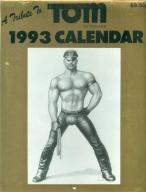 TOM OF FINLAND - 1993 CALENDAR Akt Erotyka Gay