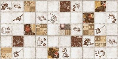 Panele ścienne 3d Pcv Mozaika Espresso Kuchnia Hit