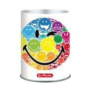 Przybornik metalowy Smiley.World Rainbow, HERLITZ