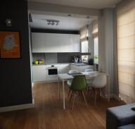 Mieszkanie 73m2 Gołębiów II, 3 pokoje+garderoba.