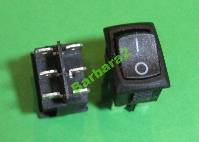 Przełącznik ON/ON MRS-202-3C3b czarny