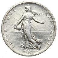 Francja - moneta - 2 Franki 1917 - 2 - SREBRO