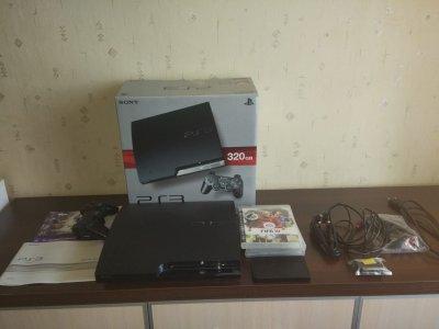 Konsola PS3 Slim CFW CECH-2503B 640 GB+dysk 320 GB