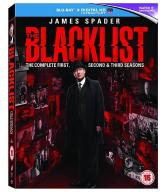 Czarna Lista [18 Blu-ray] The Blacklist Sezony 1-3