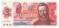 Czechosłowacja 50 Koron 1987, Stan 2-