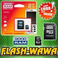 KARTA PAMIĘCI GOODRAM 2GB micro SD + ADAPTER SD
