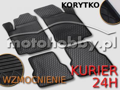 Fiat Stilo (2001-2010) DYWANIKI GUMOWE KORYTKA KPL
