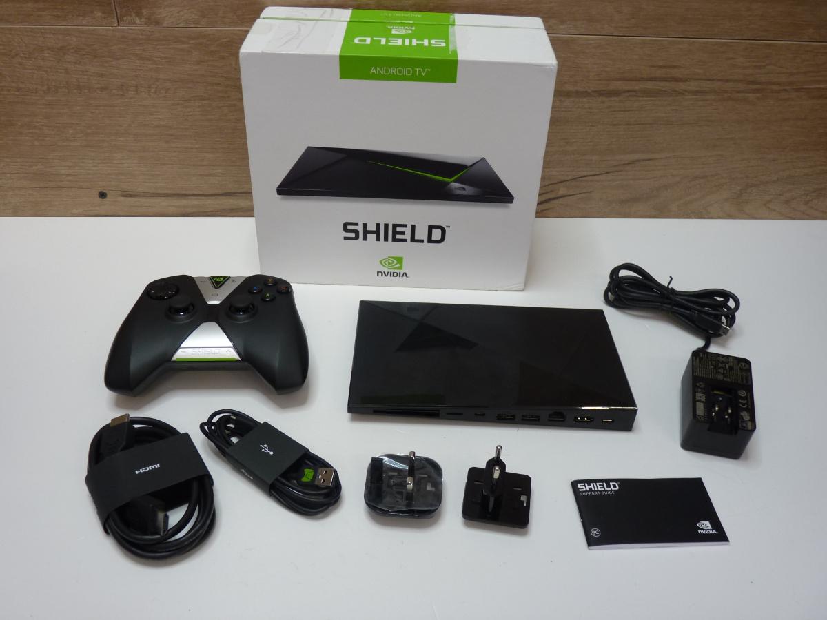 H587 Konsola Nvidia Shield Android Tv 7018515344 Oficjalne Archiwum Allegro