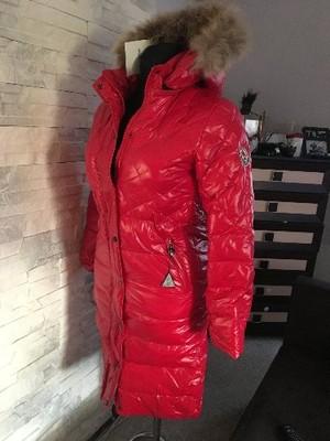 moncler kurtka damska czerwona