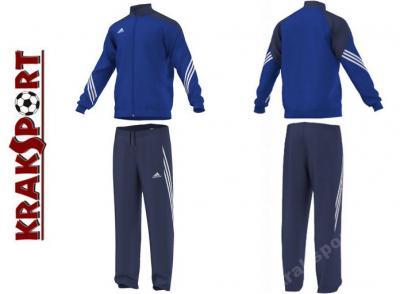 Dres sportowy, treningowy, męski: bluza + spodnie SERENO 14 Adidas