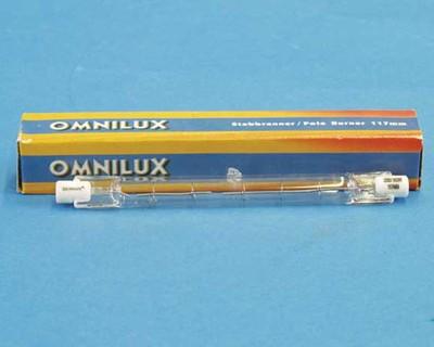 Palnik liniowy żarnik R7S 230V/500W Omnilux 117mm