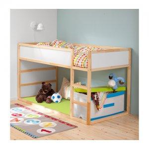 Ikea Kura łóżko Dziecięce Piętrowe Jak Nowe