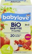Babylove Bio Herbatka Owocowa Warzywna Jagody Bura