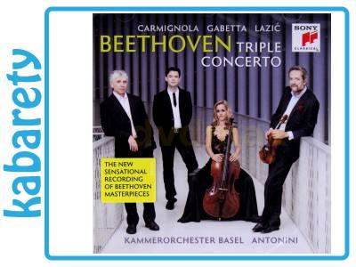 SOL GABETTA: BEETHOVEN: TRIPLE CONCERTO [CD]