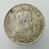 1908 Cejlon brytyjski Edward VII - 25 centów