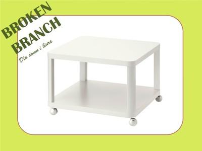 Ikea Tingby Stolik Na Kółkach Biały 64x64 6277536771
