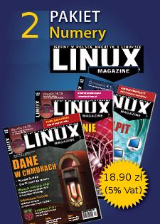 pakiet dwóch dowolnych wydań Linux Magazine z DVD