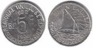 433(19) - Tuluza,5 Centimes 1930