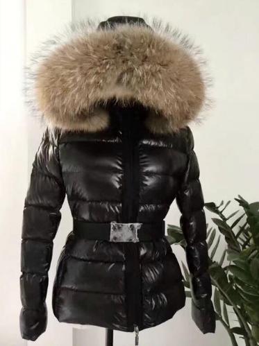 kurtka damska moncler czarna