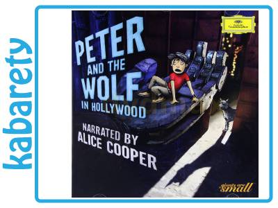 ALICE COOPER: PETER AND THE WOLF IN HOLLYWOOD [CD]