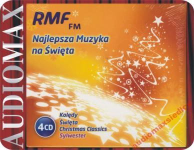 RMF FM Najlepsza Muzyka Na Święta [4CD] Kolędy +..   2788523120