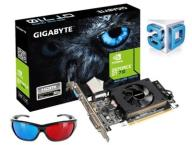 nVidia GeForce GT710 1GB DDR3 HDMI + 3D OKULARY
