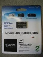 Karta SONY Memory Stick PRO DUO Mark2 2GB FV