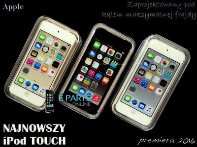 32GB najnowszy Apple iPod Touch 6G fVAT g12 KOLORY