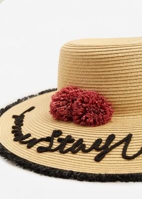 Słomkowy kapelusz Mango SS2017 - nowy!