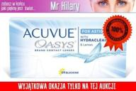 ACUVUE OASYS for ASTIGMATISM  toryczne 6szt PROMO.