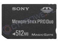 MEMORY STICK PRO- DUO SONY 512