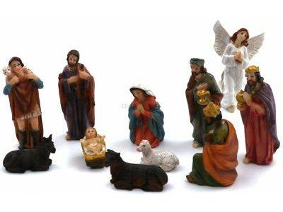 Figurki Do Szopki Szopka Boze Narodzenie Zestaw 6623790074 Oficjalne Archiwum Allegro