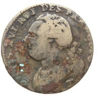 Francja - moneta - 12 Deniers 1792 T - 2 - RZADKA