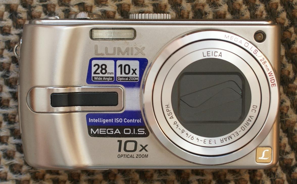 Aparat Panasonic LUMIX DMC-TZ3 czarne zdjęcia BCM